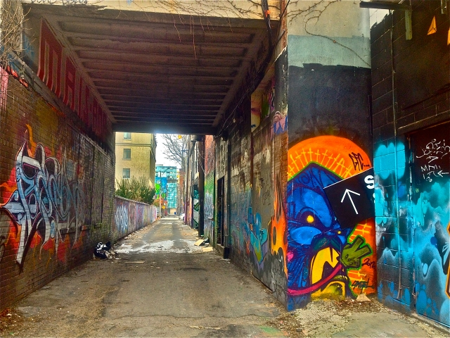Alley #1
