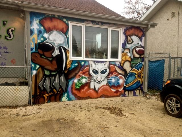 Artist(s): Brad Friesen (Mind over Matter Murals), Brian Gasenzer , (Krakr)