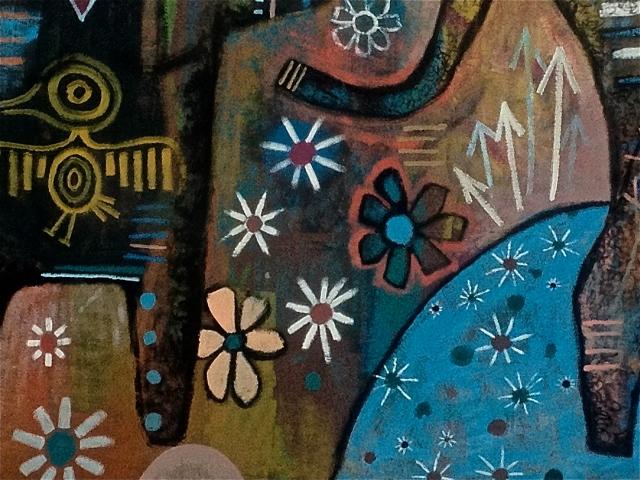 Artist: Jesse Reno Painters: Vincent Shorting, Nelson Catcheway, Eugene Boittiaux, Steve Castel