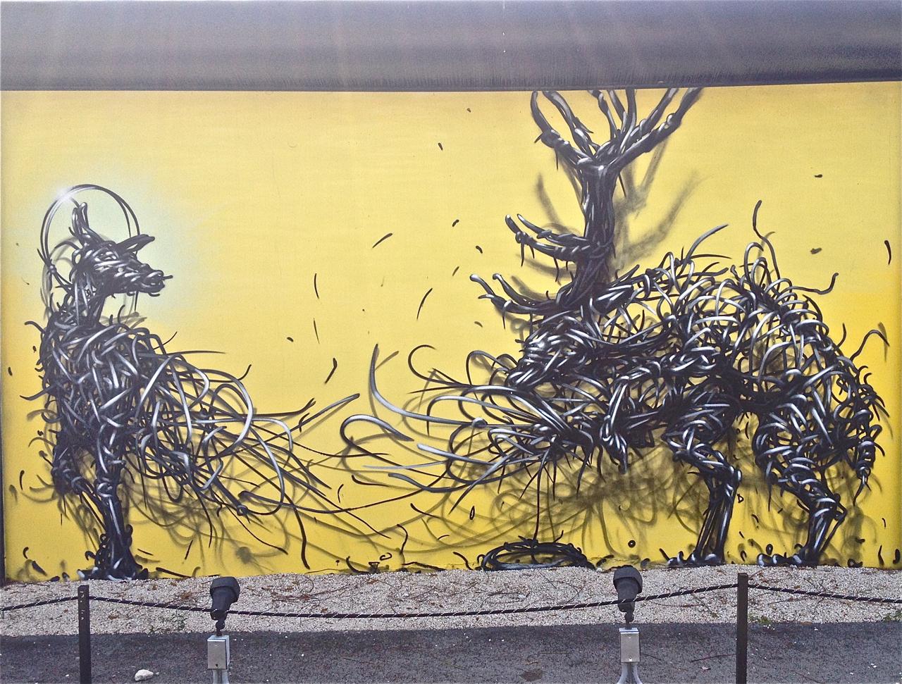 Daze & DALeast – Miami Seven – Graffiti Lux and Murals