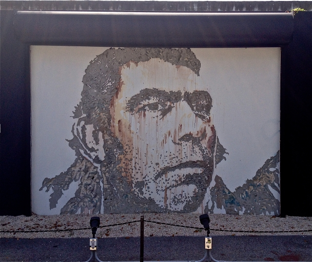 Artist: Vhils - Photo @ Norman Orenstein