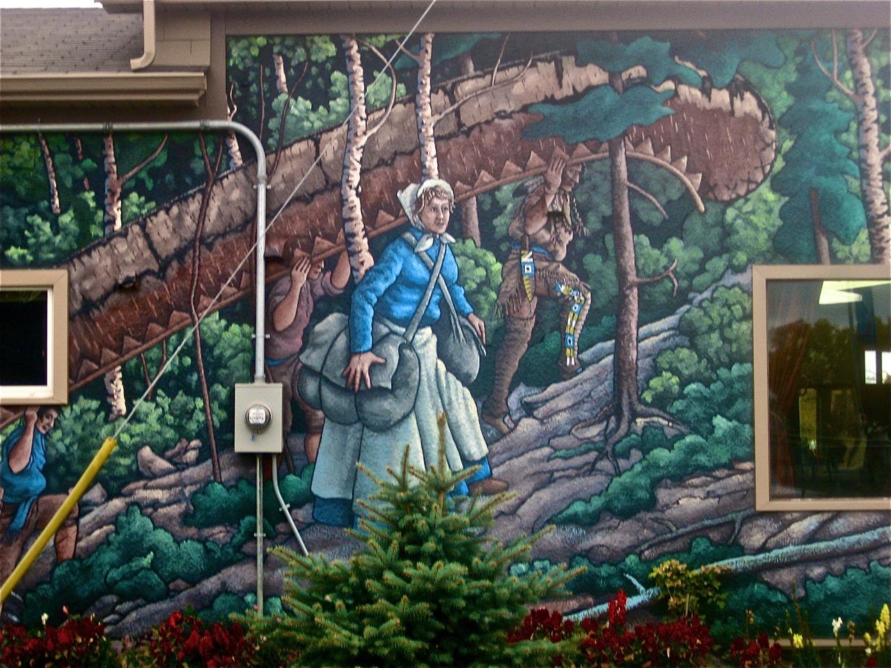 Buffalo graffiti lux and murals for Bufflon revetement mural