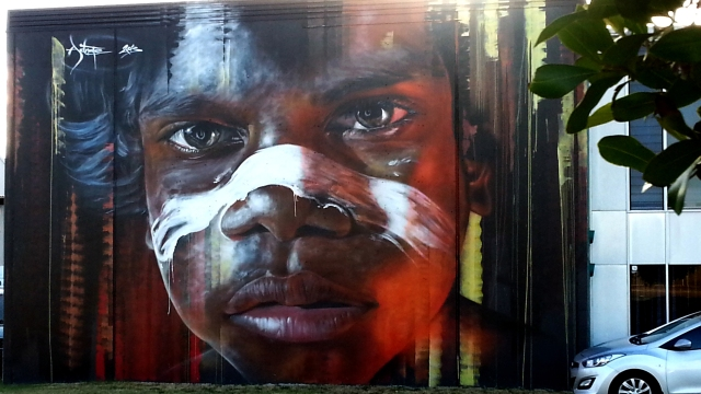 Artist: Adnate - Photo © Carolyn Page