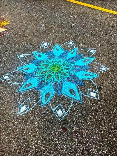 Chalk Artist Unknown to me. Will update