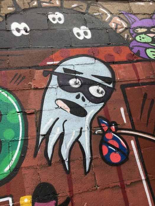 Blow me up! & Graffiti Mural u2013 Graffiti Lux and Murals
